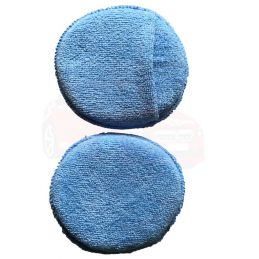 2 applicateurs microfibre bleu